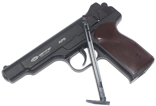 1)Самый мощный пневматический пистолет с blow-back