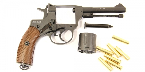 3)Легендарный револьвер Gletcher NGT