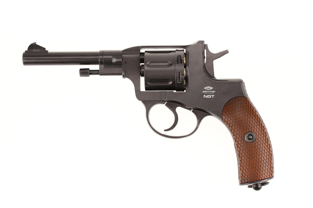 1)Легендарный револьвер Gletcher NGT