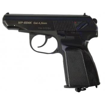Пневматический пистолет МР-654 К (пистолет Макарова,черная рукоятка) 4,5 мм
