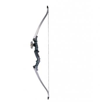 Лук рекурсивный Олимпик черная ручка (Blue Knight) 20 кг