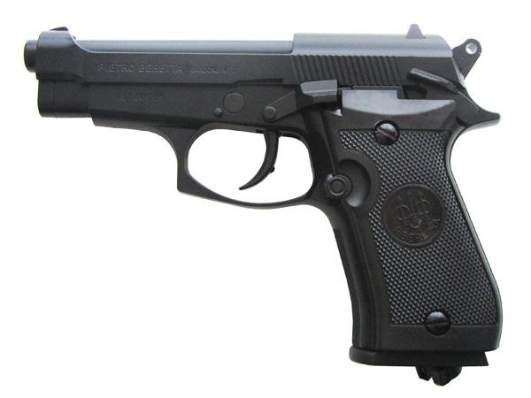 4)Самый мощный пневматический пистолет с blow-back