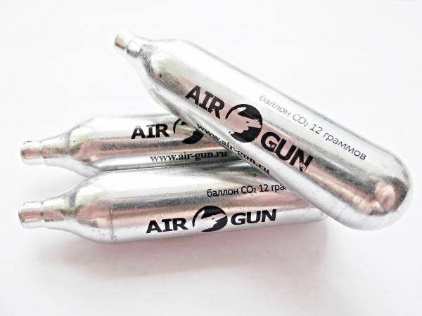 1)Баллончики для пневматического оружия.