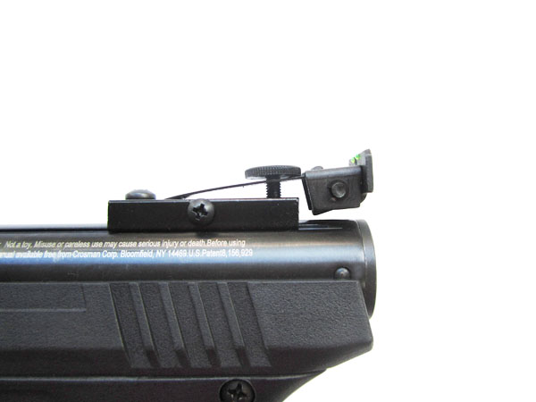 3)Пневматический пистолет Crosman Benjamin Trail NP