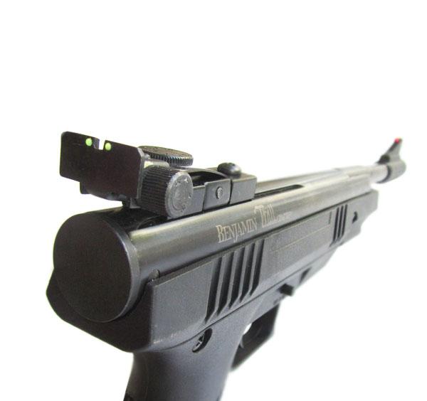 5)Пневматический пистолет Crosman Benjamin Trail NP