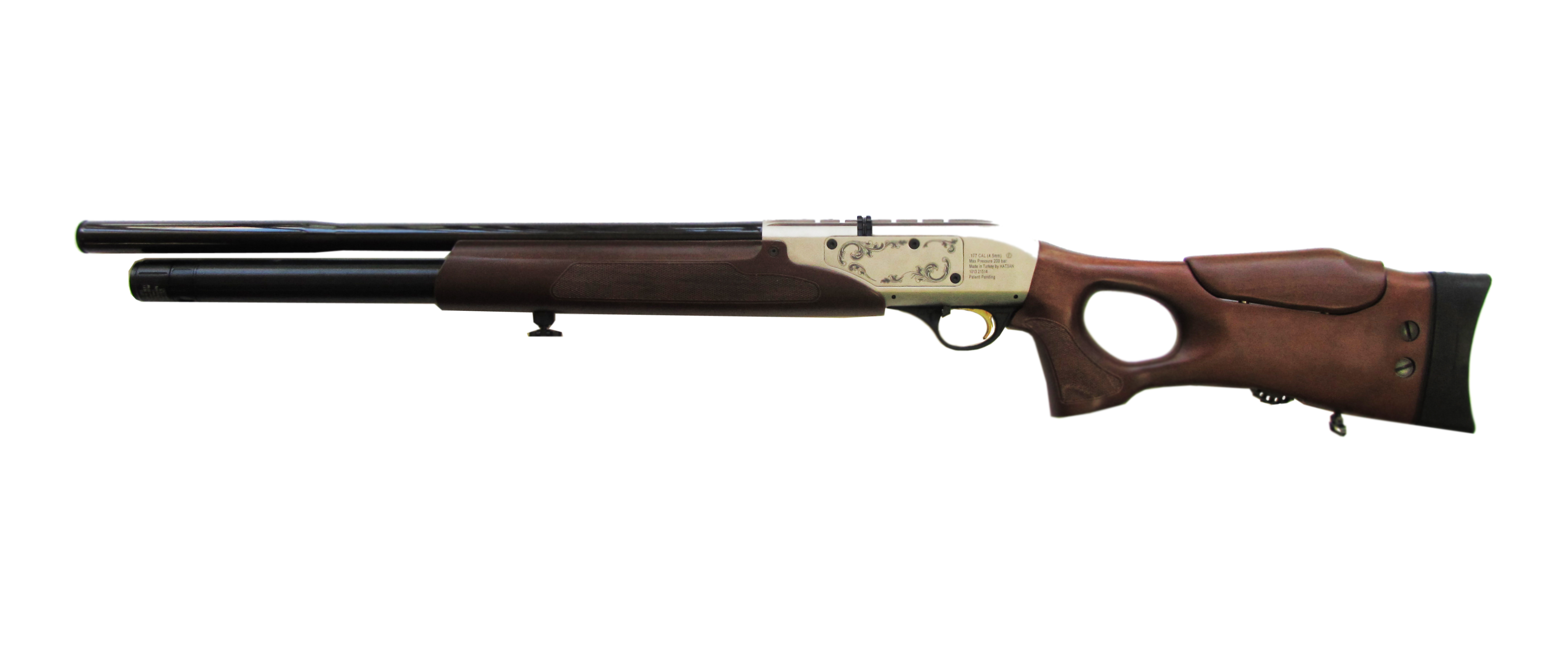2)Пневматическая винтовка Hatsan Galatian1 Carbine 4,5 мм