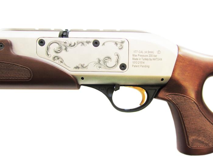 5)Пневматическая винтовка Hatsan Galatian1 Carbine 4,5 мм