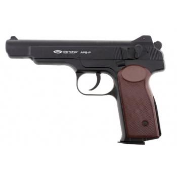 7)Самый мощный пневматический пистолет марки Gletcher
