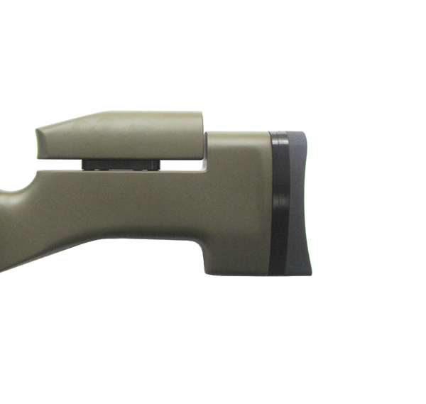 5)Пневматическая винтовка Тактик Ataman M2R Тип I (зелёный) 5.5мм (магазин в комплекте) (235/RB)