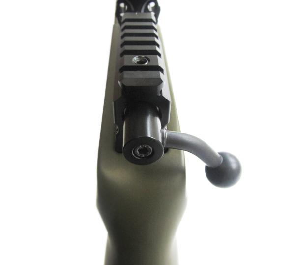 2)Пневматическая винтовка Тактик Ataman M2R Тип I (зелёный) 5.5мм (магазин в комплекте) (235/RB)