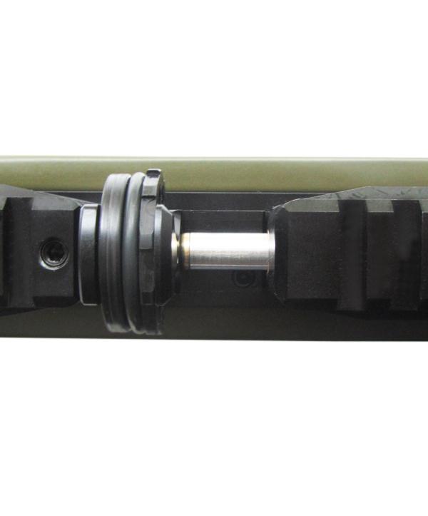 6)Пневматическая винтовка Тактик Ataman M2R Тип I (зелёный) 5.5мм (магазин в комплекте) (235/RB)