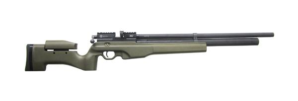 1)Пневматическая винтовка Тактик Ataman M2R Тип I (зелёный) 5.5мм (магазин в комплекте) (235/RB)