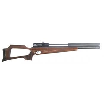 Пневматическая винтовка Horhe-Jager SPR NEW 6,35 мм (короткая, с интегрированным модератором, орех)