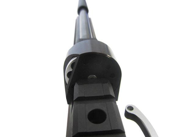 2)Пневматическая винтовка Horhe-Jager SP NEW (короткая) с интегрированным модератором, орех