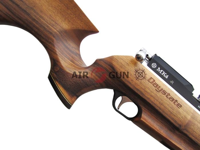 2)Пневматическая PCP винтовка Daystate MK 4 R IS (дерево) 5,5 мм