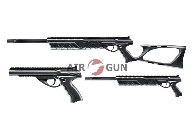 1)Пневматический пистолет Umarex Morph 3X 4,5 мм