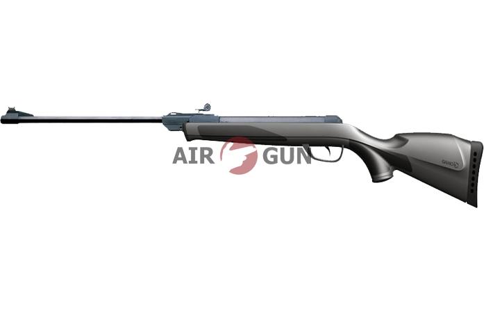 Пневматическая винтовка Gamo Deltamax Force Whisper 3J 4,5 мм (переломка, пластик)