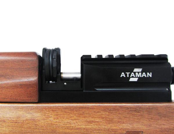 4)Пневматическая винтовка Булл-пап Ataman M2R (Дерево) 5,5 мм (до 3 Дж) (415/RB)