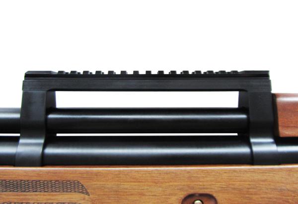 3)Пневматическая винтовка Булл-пап Ataman M2R (Дерево) 5,5 мм (до 3 Дж) (415/RB)