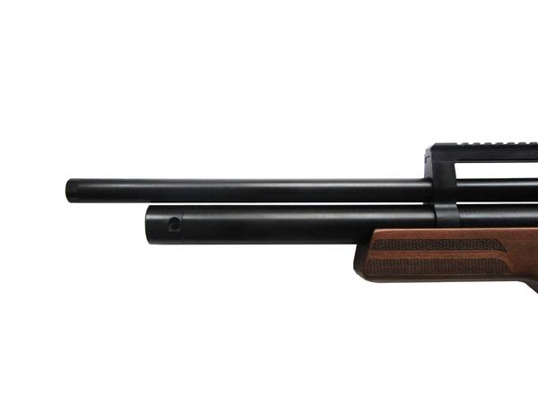2)Пневматическая винтовка Булл-пап Ataman M2R (Дерево) 5,5 мм (до 3 Дж) (415/RB)