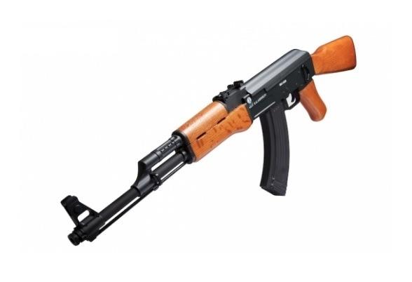2)Пневматический автомат Swiss Arms Kalashnikov AK47 Air - gun promo
