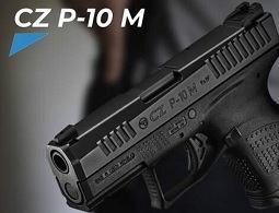 В чем особенности и преимущества компактного пистолета CZ P-10 M – Новости AIR-GUN.RU
