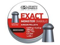 Пули пневматические JSB Exact Monster (redesigned) 4,52 мм 0,87 грамм (400 шт.)