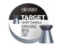 Пули пневматические JSB Target Sport 4,5 мм 0,52 грамма (500 шт.)