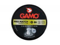 Пули пневматические  GAMO Pro Match 4,5 мм 0,49 грамма (250 шт.)