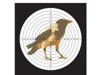 Мишень Ворона (50 шт)