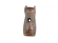 Рукоятка деревянная орех к МР 654 вид сбоку