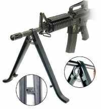 Сошки Leapers нерегулируемые для установки на ствол оружия (UTG TL-BP70)