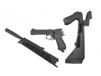 Пневматический пистолет МР-651-09 К 4,5 мм в разборе