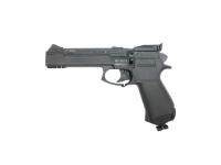 Пневматический пистолет МР-651-09 К 4,5 мм без доп.деталей, вид слева