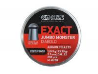 Пули пневматические JSB EXACT Jumbo Monster Diabolo 5,5 мм 1,645 грамма (200 шт.)