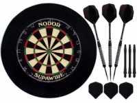 Комплект для игры в Дартс Nodor Black (профессиональный уровень)