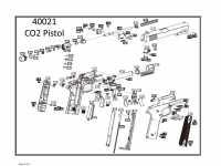 взрыв схема к пневматическому пистолету Crosman GI MODEL 1911BBb