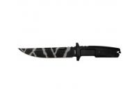 Нож ШИП H-161K эластрон камуфляж пластиковые ножны