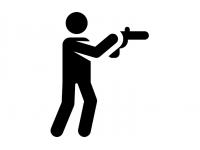 Стрельба из(своего) пистолета 60 минут