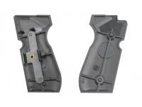 Пластиковые накладки на рукоять пистолета Beretta 92 (Umarex M92 FS 419.130) вид сзади