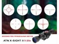Цифровой прицел ночного видения ATN X-Sight II HD 5-20x85 - вид №6