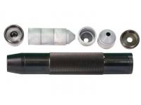 Саундмодератор комбинир. пластик/металл для Hatsan AT 44-10, BT-65, Weihrauch 100, 1/2 UNF-20 внутр. вид №4