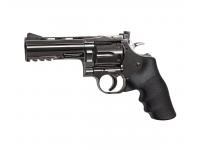 Пневматический револьвер ASG Dan Wesson 715-4 steel grey 4,5 мм