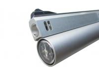 Пневматический пистолет Ataman АР16 компакт металл Silver 4,5 мм манометр