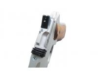 Пневматический пистолет Ataman АР16 компакт металл Silver 4,5 мм вид сверху