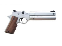 Пневматический пистолет Ataman АР16 компакт металл Silver 4,5 мм вид справа