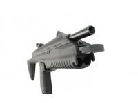 Пневматический пистолет МР-661К-02 ДРОЗД (пл. клин. ускор. заряж) 4,5 мм вид спереди