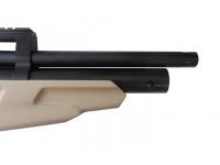 Пневматическая винтовка Ataman M2R Булл-пап укороченная SL 6,35 мм (Песочный)(магазин в комплекте)(846C/RB-SL) ствол