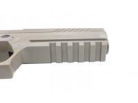 Пневматический пистолет Sig Sauer P320 4,5 мм подствольная планка