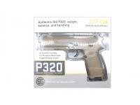 Пневматический пистолет Sig Sauer P320 4,5 мм в коробке